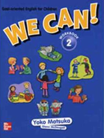 We Can! 2: Workbook with Audio CD