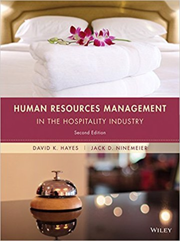 Human Resources Management in the Hospitality Industry 2nd Edition