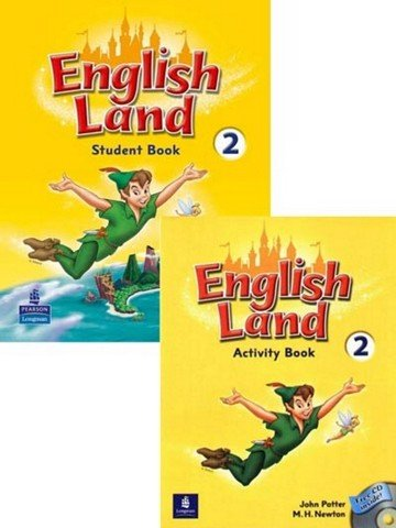 English Land 2: Student Book with Activity Book with CD