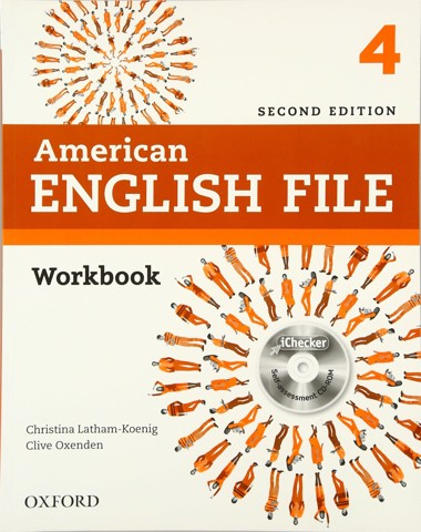 American English File (2 Ed.) 4: Workbook with iChecker