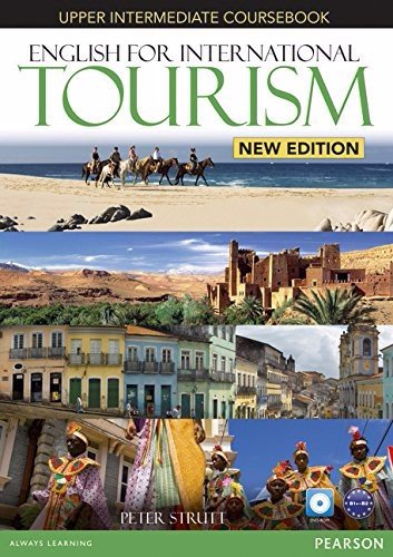English for International Tourism (2 Ed.) Upper-Inter: Course book with DVD-ROM