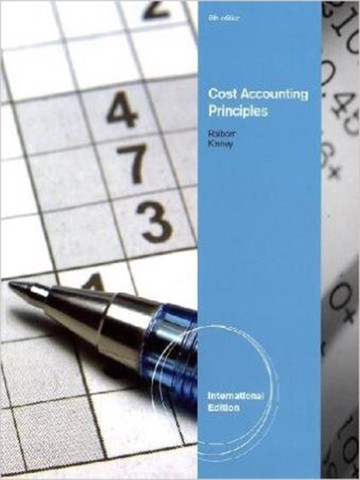 AISE Cost Accounting Principles