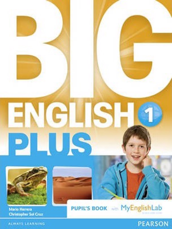 Big English Plus 1 Pupil's Book with Myenglishlab Access Code Pack