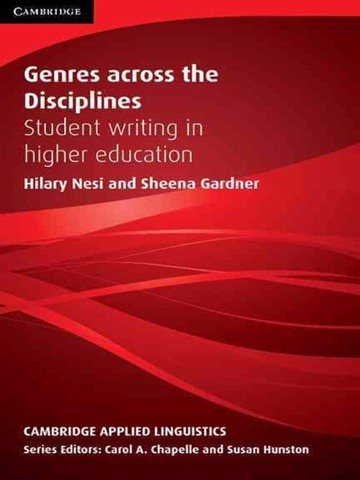Genres Across the Disciplines: Paperback