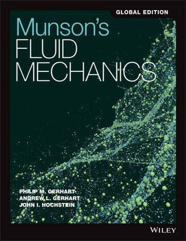 Munson's Fundamentals of Fluid Mechanics, Global Edition