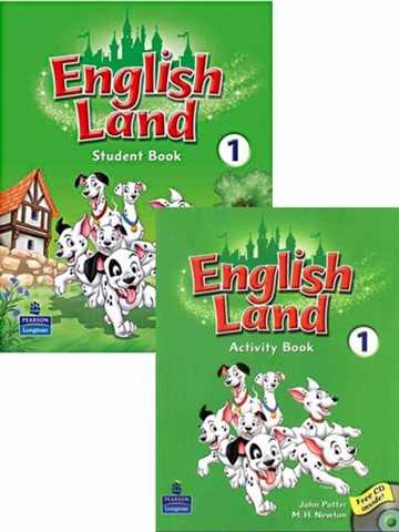 English Land 1: Student Book with Activity Book with CD