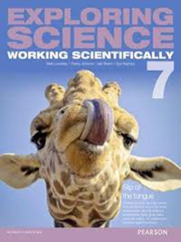 Exploring Science Working Scientifically student book 7