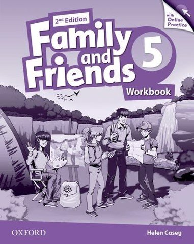 Family & Friends (2 Ed.) 5 Workbook & Online Practice Pack
