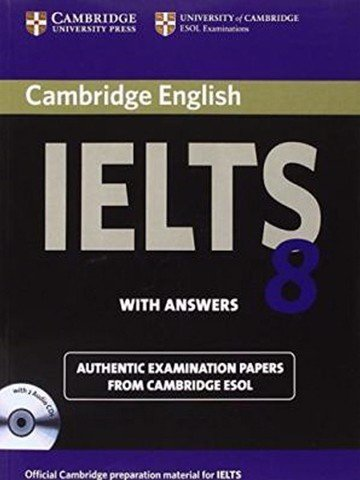 Cambridge IELTS 8: Student Book with Key & Audio CDs (2)