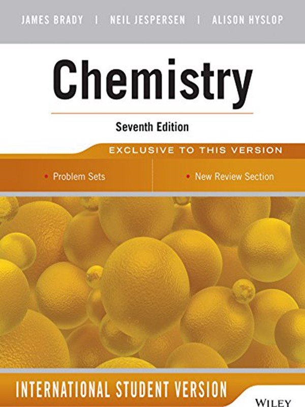 Chemistry, 7th edition, International Student version