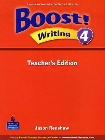 Boost! Writing 4: Teacher Book