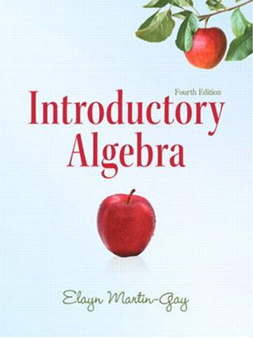 Introductory Algebra (4th Edition) (Martin-Gay Developmental Math Series)