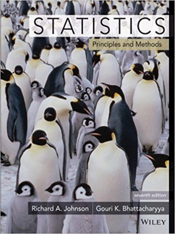 Statistics: Principles and Methods 7th Edition