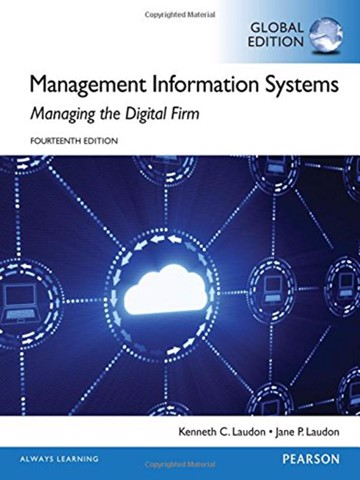 Management Information Systems, Global Edition 14E