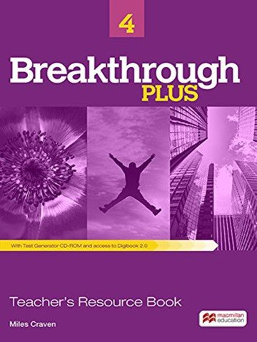 Breakthrough Plus 4: Teacher Book with Digibook Code with Test Generator