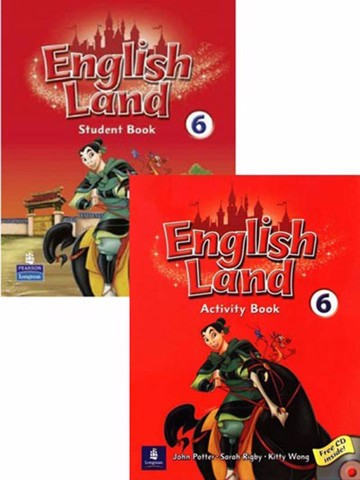 English Land 6: Student Book with Activity Book with CD