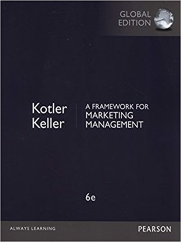 Framework for Marketing Management Global Edition