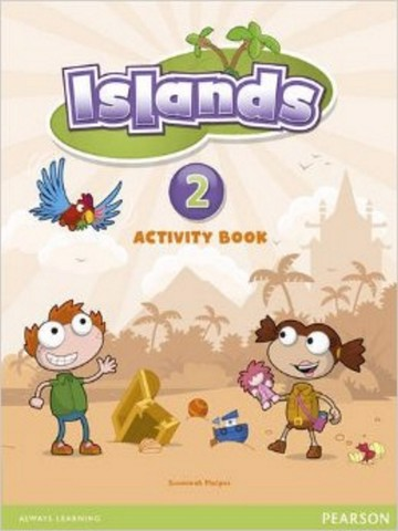 Islands Activity Book w/pin code 2