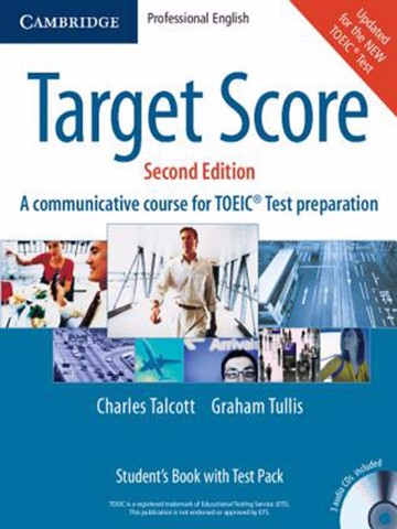 Target Score: Student Book with 3 Audio CDs, Test booklet & Key
