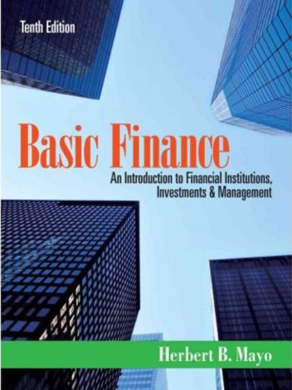 An Introduction to Institutions, Management & Investments