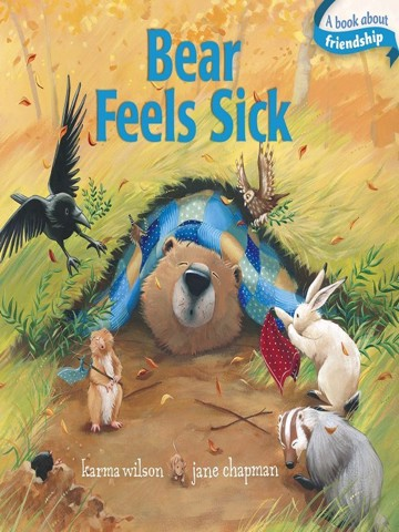 Bear Feels Sick (Classic Board Books)