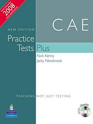 CAE Practice Tests Plus New Edition CAE Practice Tests Plus New Edition Students Book no Key with iTest CD ROM and Audio CD