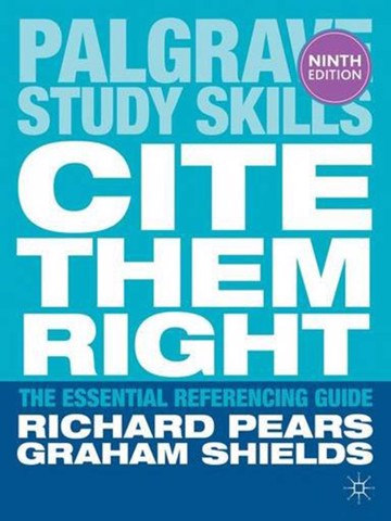 Cite them right 8th edition