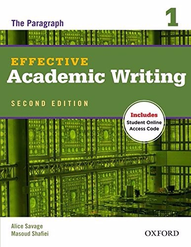 Effective Academic Writing (2 Ed.) 1: Student Book with Online Practice