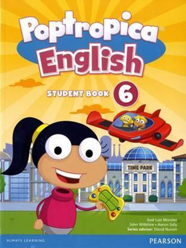Poptropica English 6 Student Book & Online World Access Card Pack