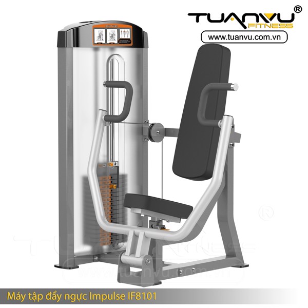 Máy tập đẩy ngực Impulse IF8101, May tap day nguc Impulse IF8101