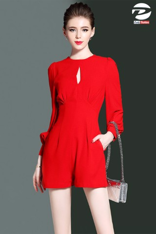 Jumpsuit Short Đỏ [XJS01]