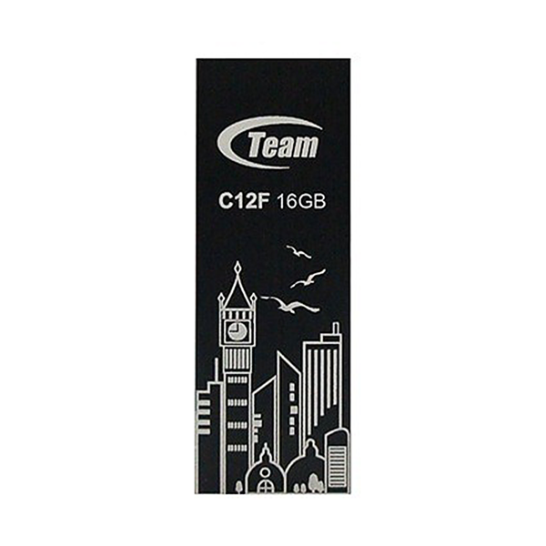 USB 2.0 Team Group C12F 16GB (Đen)