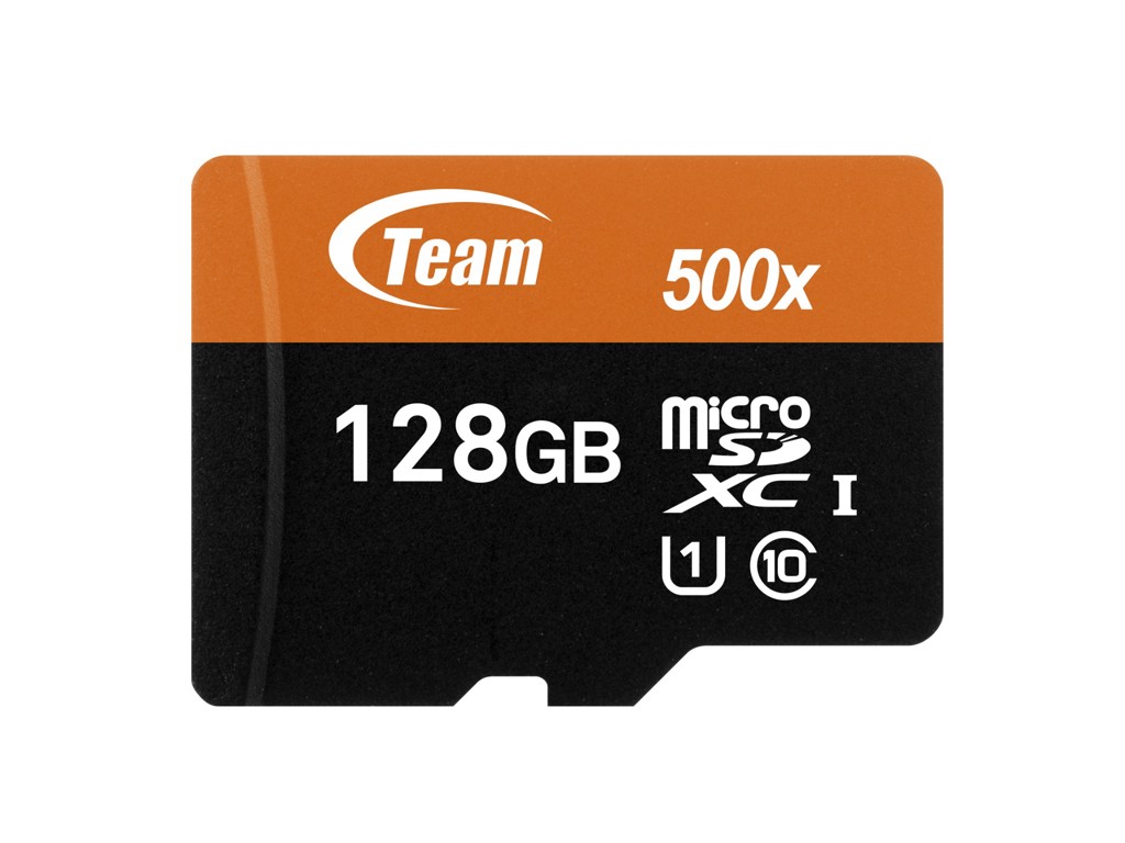 Thẻ nhớ micro SDXC Team Group 128GB 500x upto 80MB/s + Adapter (Cam)