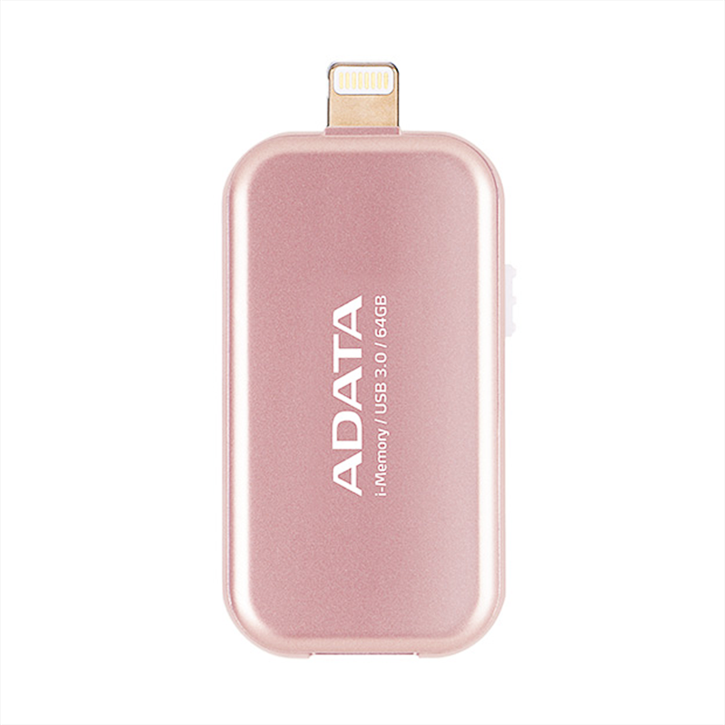 USB 3.0 64GB cho iPhone OTG ADATA UE710 (Vàng)