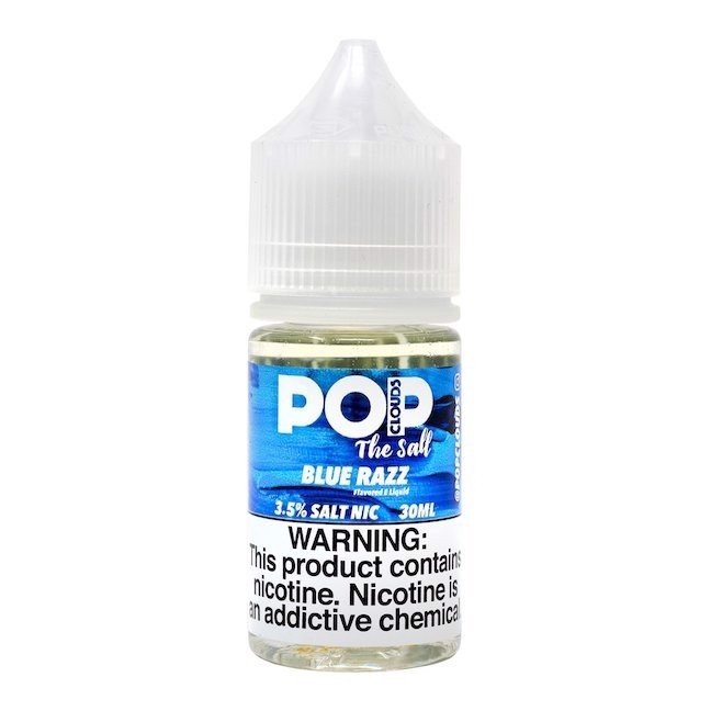 POP CLOUDS Blue Razz ( Mâm xôi kem)