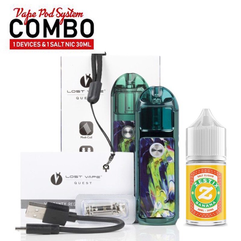 COMBO 850K ( LYRA by LOST VAPE và SALTNIC 30 ml )