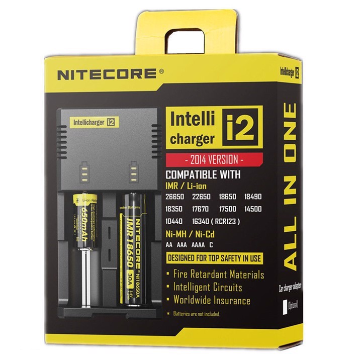 [Nitecore Intellicharger i2 ]
