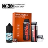 COMBO 1050 [ VAPORESSO LUXE PM40 & SALTNIC 30ML ]