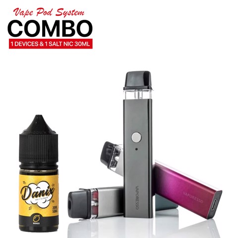 COMBO 850K [ XROS BY VAPORESSO & SALTNIC 30ML ]