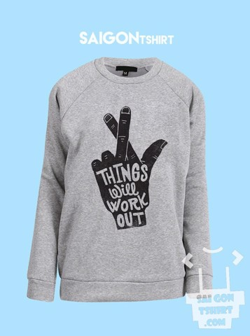 Áo ấm sweater  - Thing will work out - sweater-090