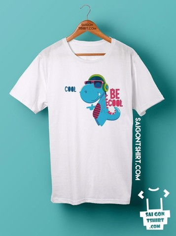 Áo thun Khủng long be cool - Happy cool - Tshirt-002