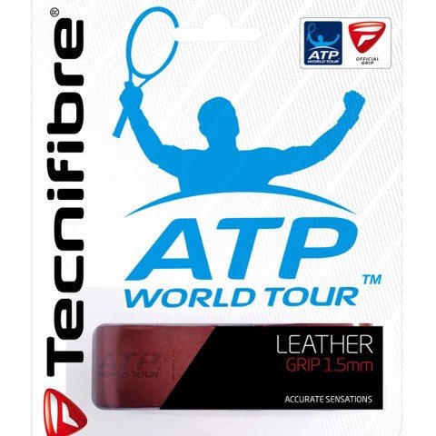 Tecnifibre Leather 1.5mm - quấn cốt da thật (51ATPLEATH)