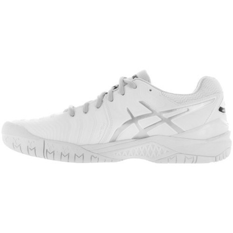ASICS GEL-Resolution 7 2017 White/Silver (E701Y-0193)