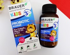 Men vi sinh Brauer For Kids (3 tuổi+)