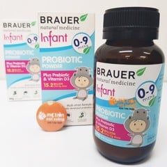 Men vi sinh Brauer For Infant (0-9 tháng)