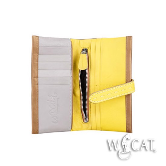 20542011 - COLOR BLOCK SCROLL Purse