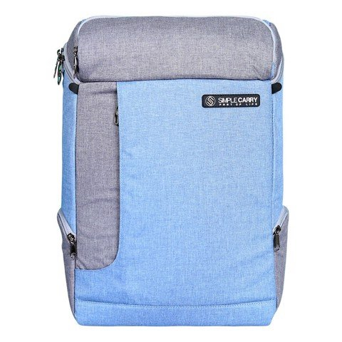 Balo Laptop Simplecarry K5 Grey/Blue