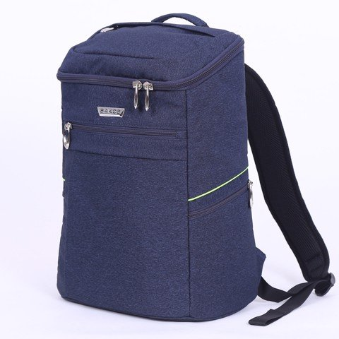 Balo Laptop Sakos Alpha i15 - Navy