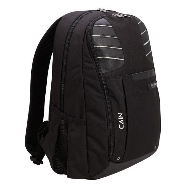 Balo Laptop Simplecarry Cain Black