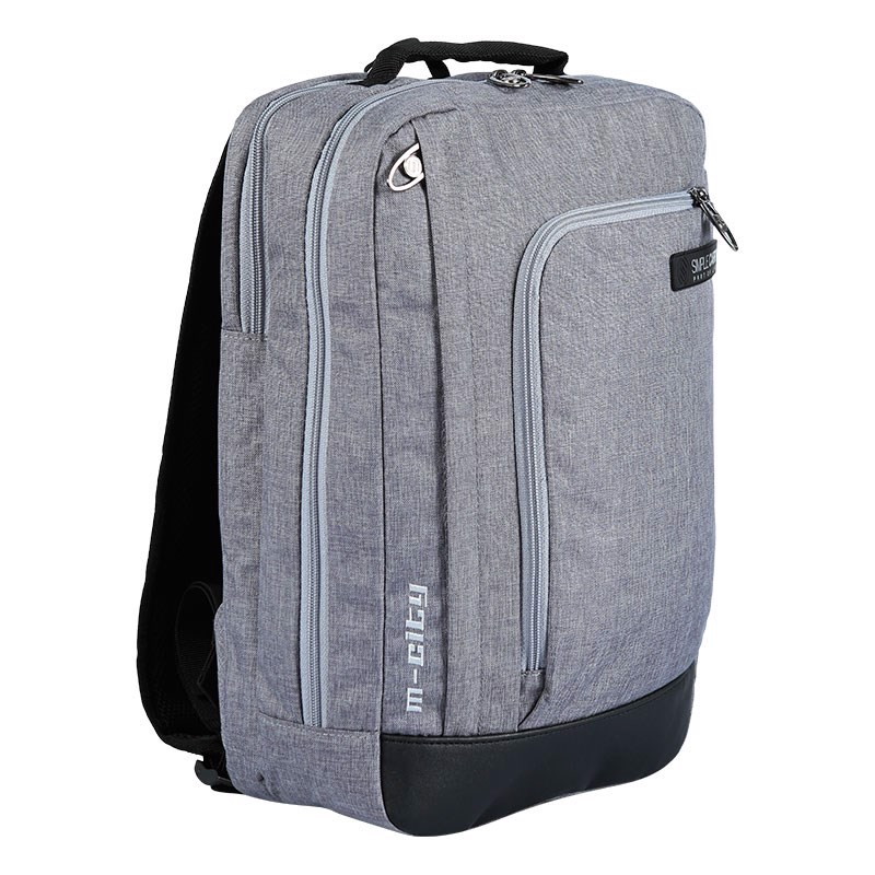 Balo Laptop Simplecarry M-City Grey